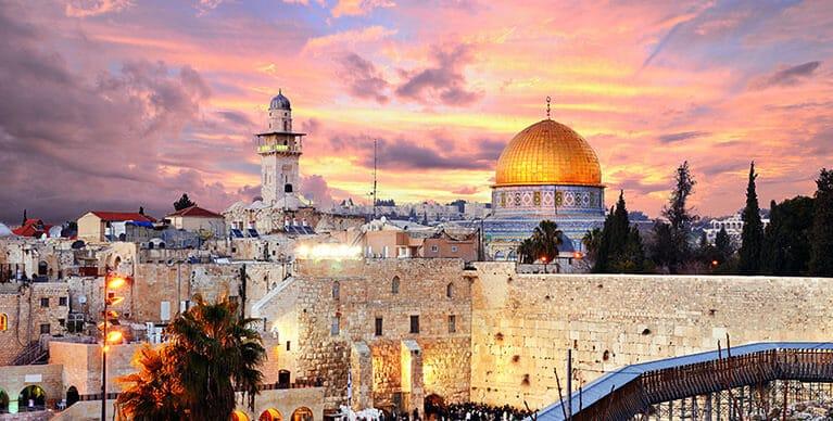 תמונה של ירושלים בשביל תרגום לעברית